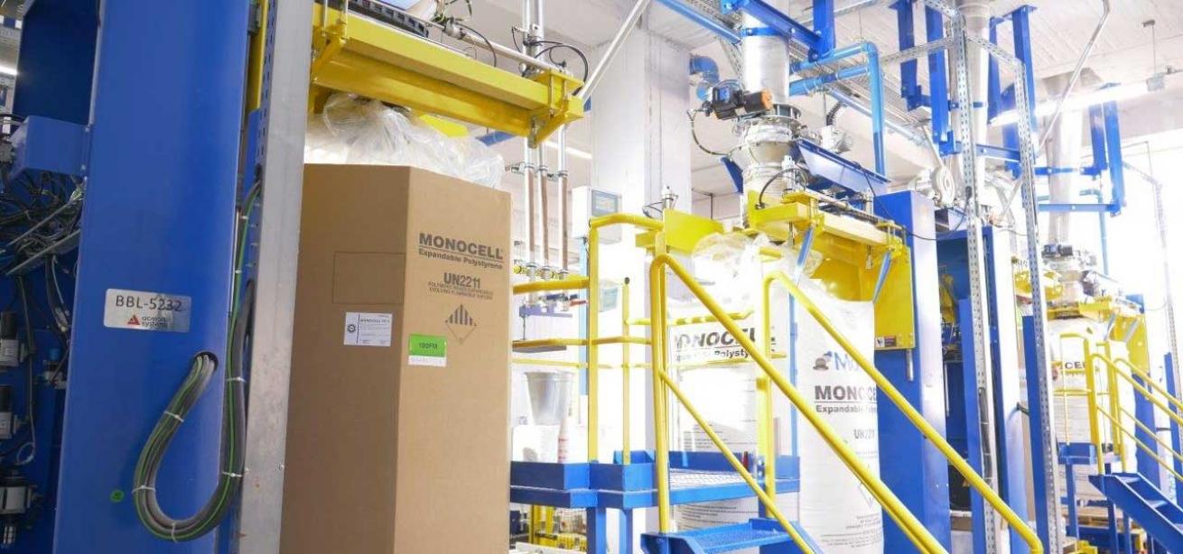 Το μοναδικό εργοστάσιο παραγωγής EPS στην Ελλάδα και στα Βαλκάνια ανακαινισμένο από την Acmon Systems